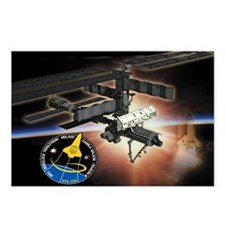 STS 120 Discovery Postcards (Package of 8)