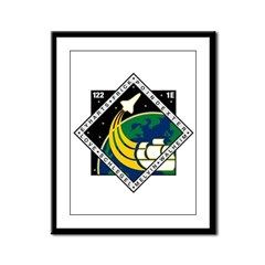 STS 122 Atlantis Framed Panel Print