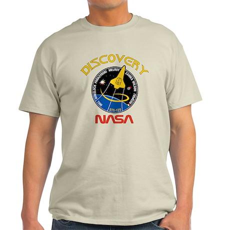 STS 120 Discovery NASA Light T-Shirt