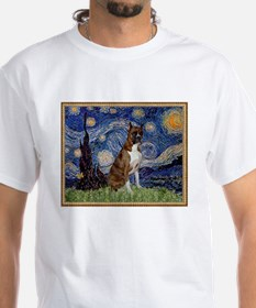 Starry Night and Brindle Boxer Shirt