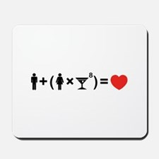 The Love Equation for Women Mousepad
