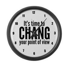 Chang View Large Wall Clock