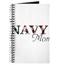 Mom Navy/Flag Journal