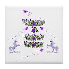 AF Welcome Tile Coaster