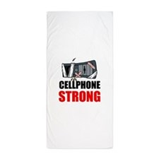 Cellphone Strong Beach Towel
