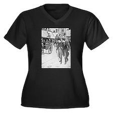 Sherlock Holmes illustrations Plus Size T-Shirt