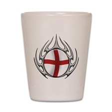tribal England (T).png Shot Glass