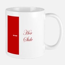 His Side Her Side 3 red Mugs