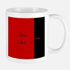 His Side Her Side 6 red black Mugs