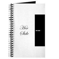 His Side Her Side 7 black white Journal