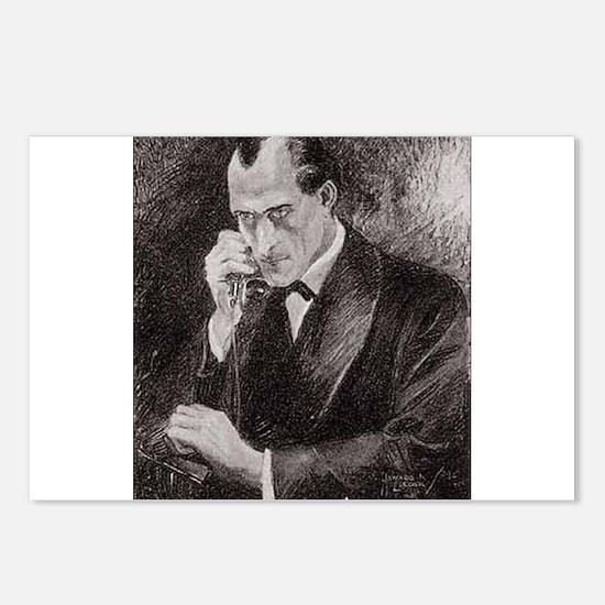 Skerock Holmes illustrations Postcards (Package of