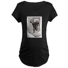 Skerock Holmes illustrations Maternity T-Shirt
