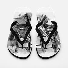 Skerock Holmes illustrations Flip Flops