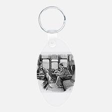 Skerock Holmes illustrations Keychains