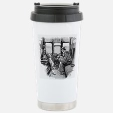 Skerock Holmes illustrations Travel Mug