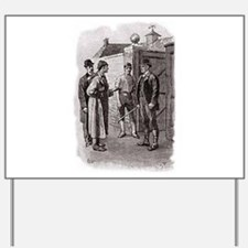 Skerock Holmes illustrations Yard Sign