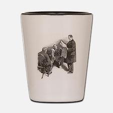 Skerock Holmes illustrations Shot Glass