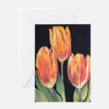 Hurry Up Spring Tulips Greeting Cards