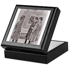 Skerock Holmes illustrations Keepsake Box
