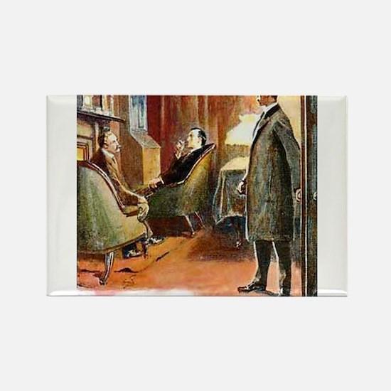 Skerock Holmes illustrations Magnets
