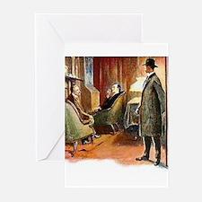 Skerock Holmes illustrations Greeting Cards