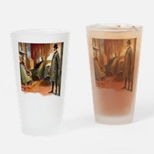 Skerock Holmes illustrations Drinking Glass