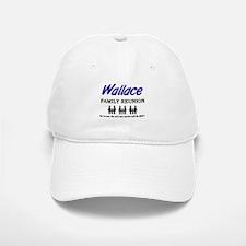 Wallace Family Reunion Baseball Baseball Cap