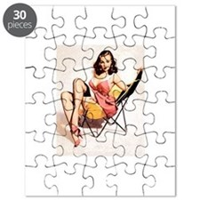 Vintage Pin-Up Puzzle