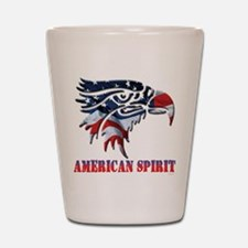 America Spirit (T).png Shot Glass