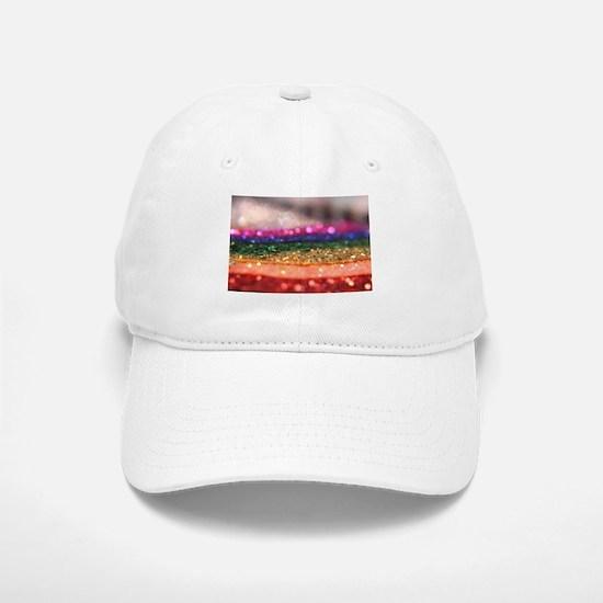 rainbow glitter pride Baseball Baseball Cap