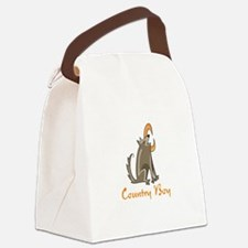 Country Boy Canvas Lunch Bag