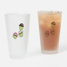 CUPCAKES Drinking Glass