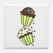 Cup Cakes Tile Coaster