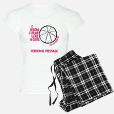 Personalized Basketball Gir Pajamas