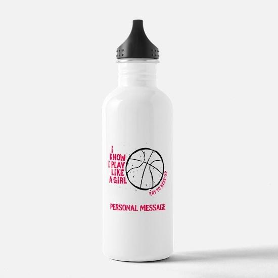 Personalized Basketbal Water Bottle