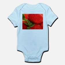 red strawberries Body Suit