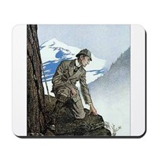 Skerock Holmes illustrations Mousepad