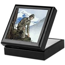 Skerock Holmes illustrations Keepsake Box