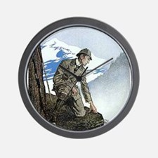 Skerock Holmes illustrations Wall Clock