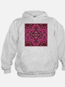pink flowers trippy Hoodie