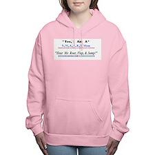 S.m.a.a.r.t.mom's Roar Women's Hooded Sweatshirt