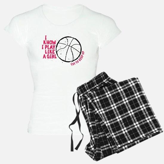 Play Basketball Like a Girl pajamas