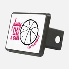Play Basketball Like a Gir Hitch Cover