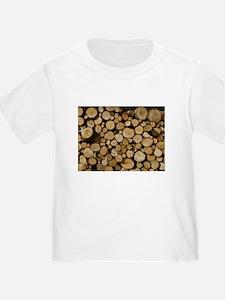 wood logs T-Shirt