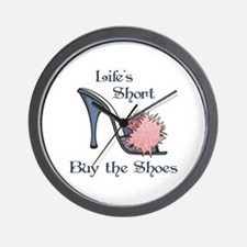 BUY THE SHOES Wall Clock