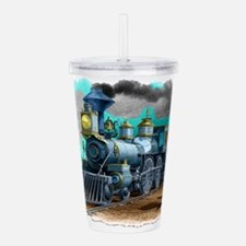 Steam Locomotive Acrylic Double-wall Tumbler