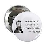 "Henry David Thoreau 1 2.25"" Button (100 pack)"