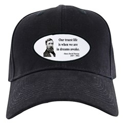 Henry David Thoreau 1 Baseball Hat