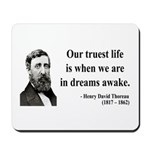 Henry David Thoreau 1 Mousepad