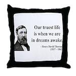 Henry David Thoreau 1 Throw Pillow